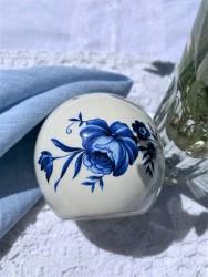 """POMANDERIS - KVAPŲ LAIKIKLIS """"EVENING BLUE ROSE"""", 1 VNT, KERAMIKA"""
